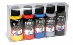Premium metallic color 5x60ml.