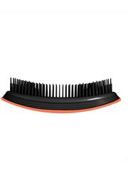 Ikoo Расческа-детанглер для бережного расчесывания волос оранжевый цветок Home Orange Blossom Black