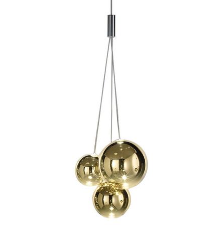 Подвесной светильник копия Random by Studio Italia Design (золотой)