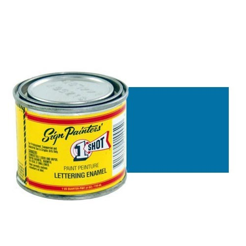 Пинстрайпинг (pinstriping) Эмаль для пинстрайпинга 1 Shot Светло-синий (Light Blue), 118 мл LightBlue.jpg
