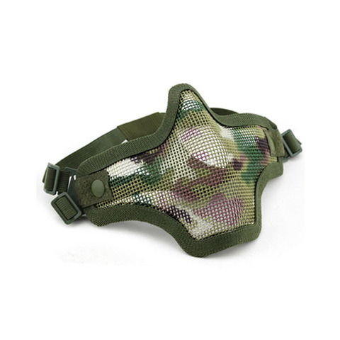 Wosport Маска защитная V1 Double-band Scouts Mask, Multicam (MA-09-CP)