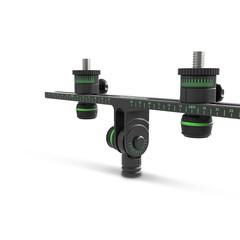 Gravity MS STB 01 PRO держатель стереобар для стереопары микрофонов