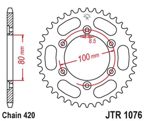 JTR1076