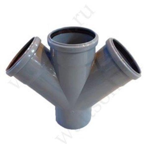 Крестовина ПП одноплоскостная 110x110x110/45°