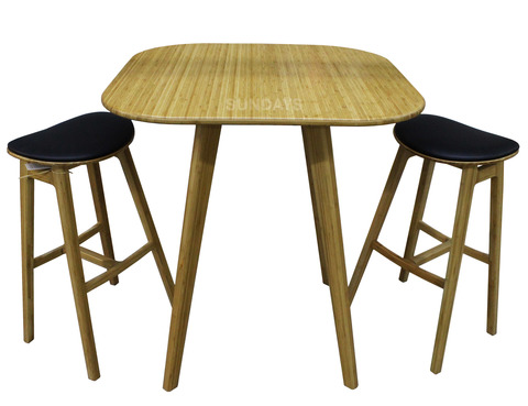 Комплект обеденной мебели Greenington COSMOS GCS-004-CA/GSK-004-CA, бамбук, карамель