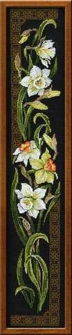 Набор для вышивания крестом «Нарциссы» (842)