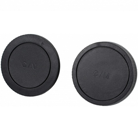 Набор крышек JJC LR15 для тела и для объектива для Canon EOS M