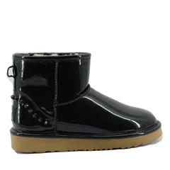 UGG Jimmy Choo Classic Mini Spikers Black