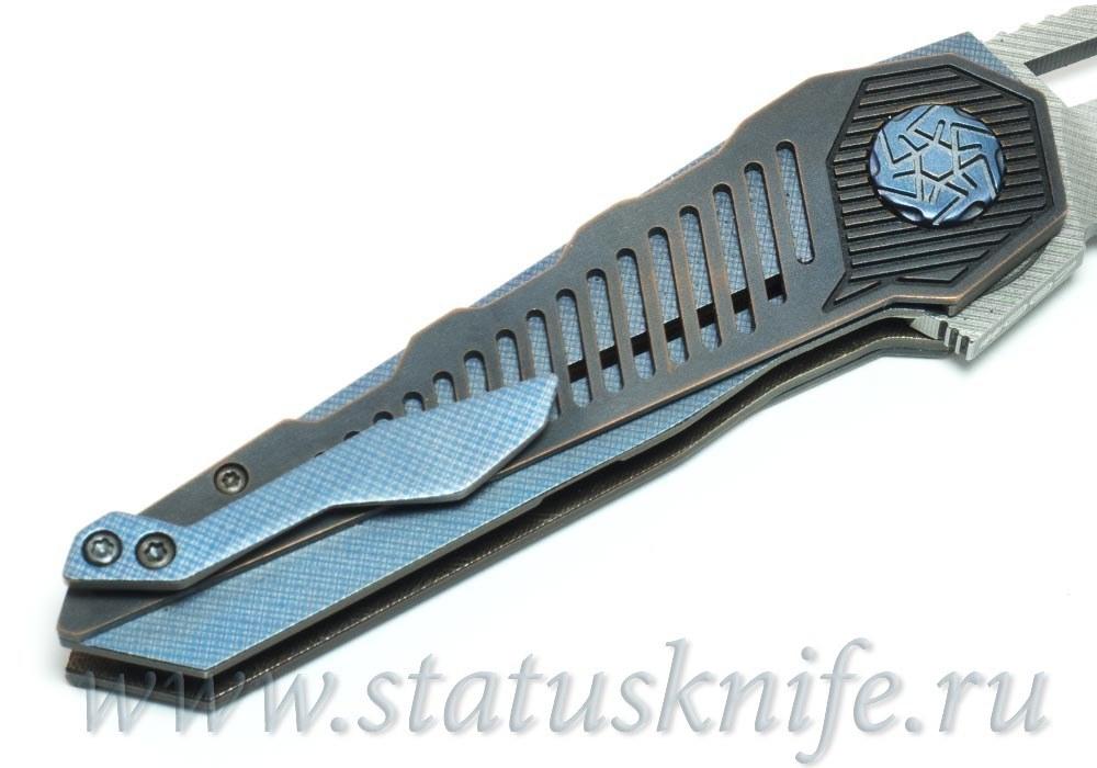 Нож Хронос Hronos Copper Guard от Custom Made - фотография