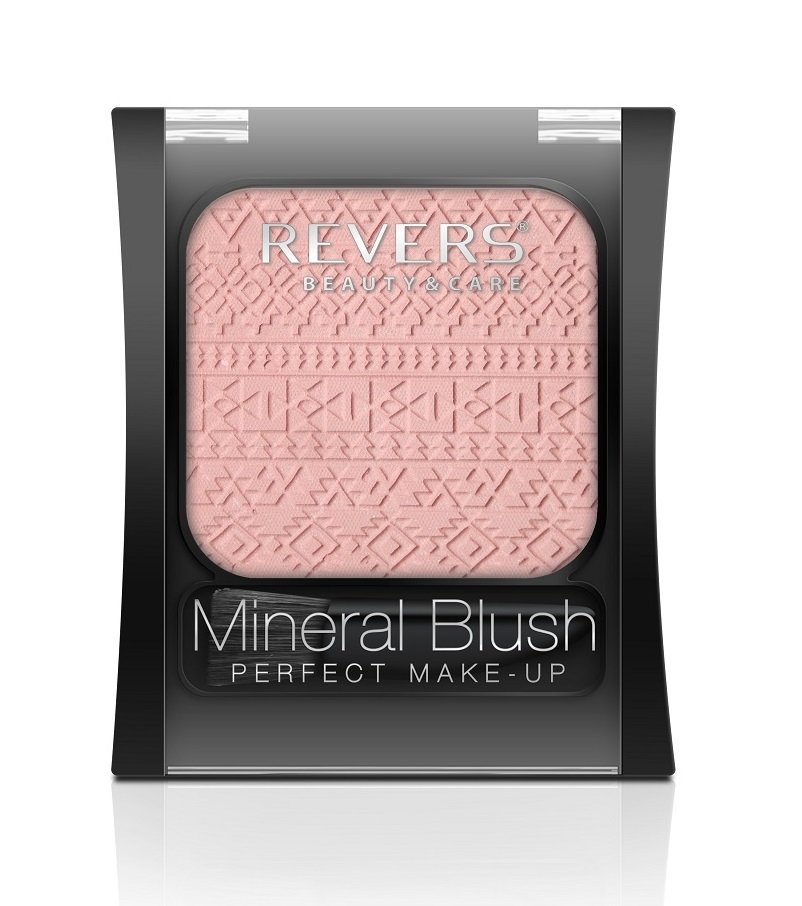 REVERS Румяна 7,5г MINERAL BLUSH Perfect make-up №02 (*3)