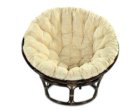 Кресло из ротанга Papasan 23/01 с подушкой
