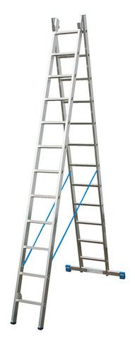 STABILO Универс. лестница, их двух частей, 2 х 9 перекладин