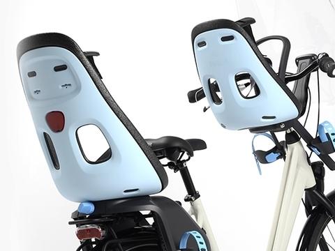 Картинка велокресло Thule Yepp Nexxt Maxi Universal серое - 4