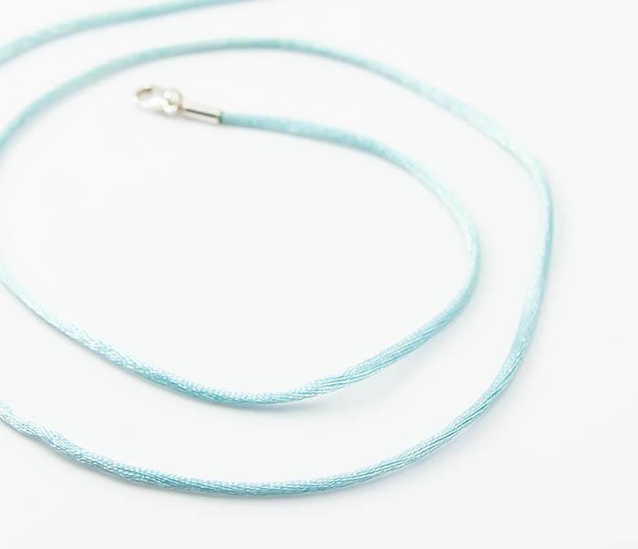 PL279-6 Шелковый шнур гайтан на шею для подвески фото 04