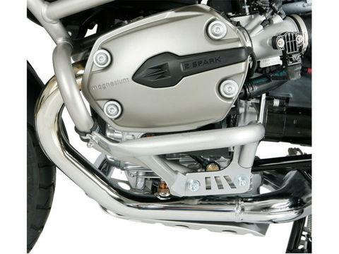 Дополнительные дуги защиты двигателя для оригинальных дуг BMW R1200GS/GSA, серебро