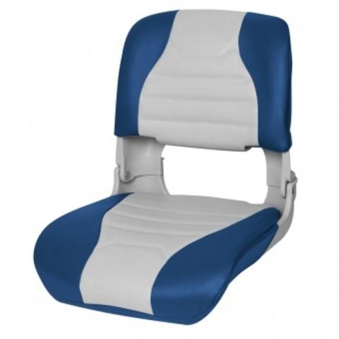 Кресло Highback Seat всепогодные - серый/синий