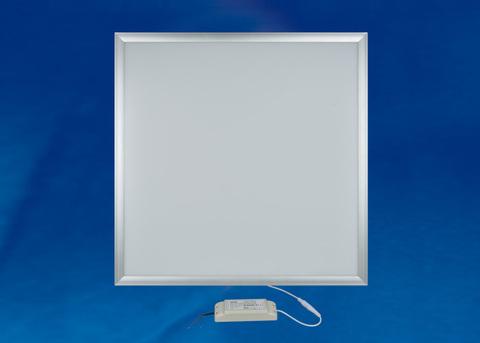 ULP-6060-42W/DW EFFECTIVE SILVER Светильник светодиодный потолочный встраиваемый. Дневной свет (6500K). Корпус серебристый. В комплекте с и/п. ТМ Uniel.