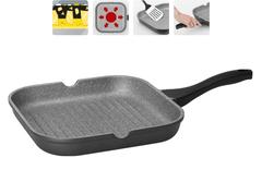 Сковорода-гриль с антипригарным покрытием Grania, 28х28 см NADOBA