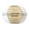 Пряжа Fibranatura Cotton Royal 18-701 (Белый)