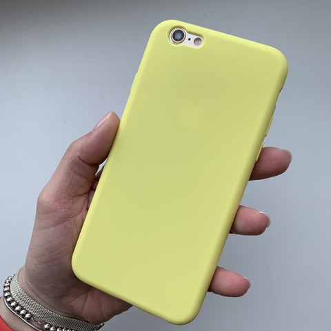 Чехол iPhone 6S Silicone Slim Case /flash/ No Logo