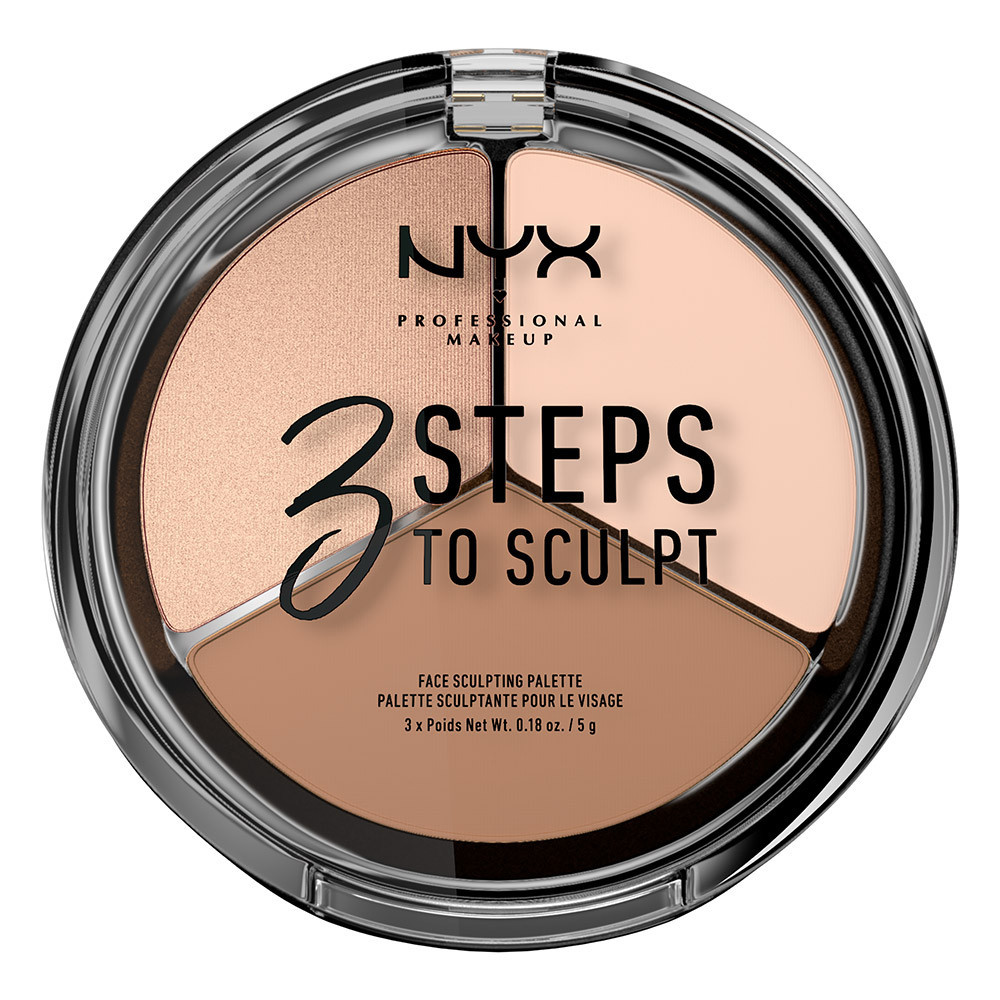 Палетка для контура NYX 3 Steps To Sculpt Fair