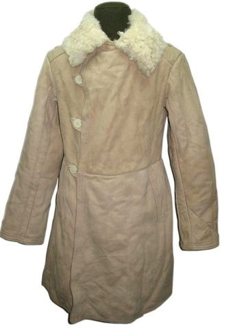 Тулуп зимний полушубок армейский овчина (Бекеша)