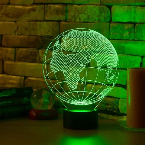 Лампа Европа (глобус)