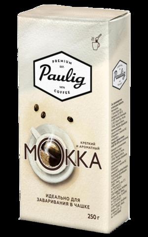 Кофе молотый Paulig Mokka для заваривания в чашке 250 г