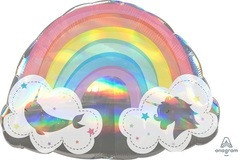 A Фигура Волшебная радуга в облаках голография 28
