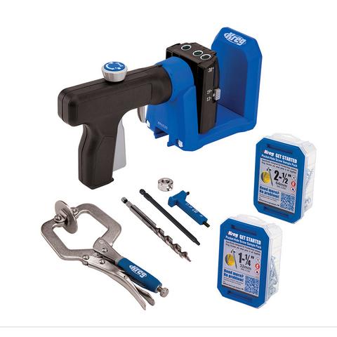 Кондуктор для сверления Kreg Pocket-Hole Jig 520 в комплекте с клещами KPHJ520PRO-INT