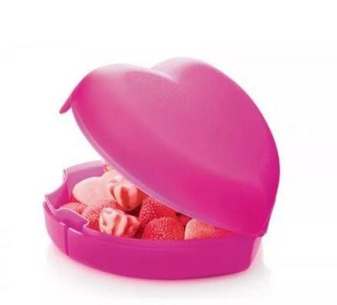 Контейнер Сердце розовый рис.2