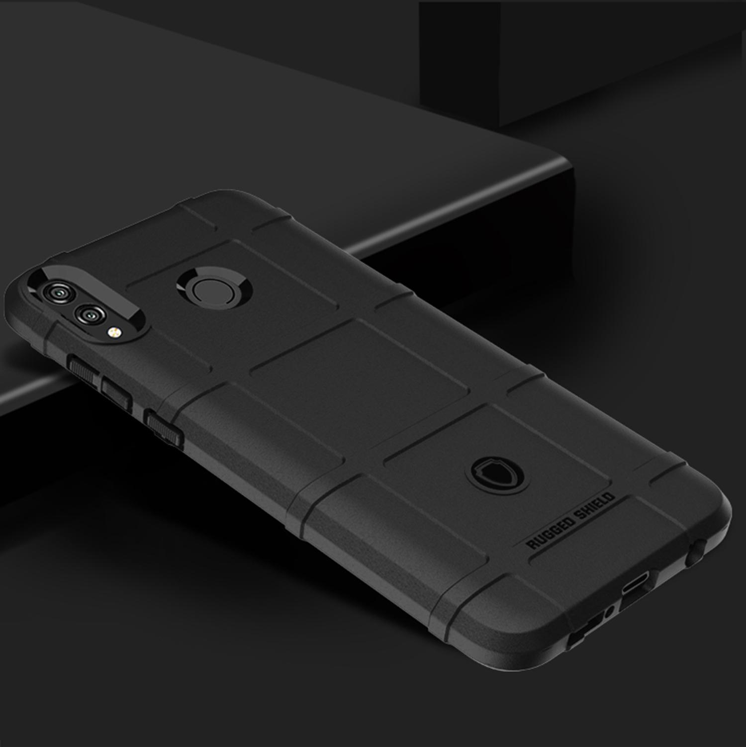 Чехол Honor 8X цвет Black (черный), серия Armor, Caseport