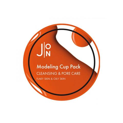 J:ON Альгинатная маска очищение и сужение пор Cleansing & Pore Care Modeling Mask, 18 гр
