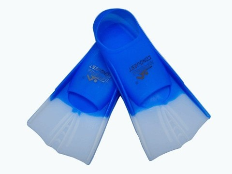 Ласты для плавания в бассейне в полиэтиленовой сумке. Размер 39-41. Материал: силикон. :(2737):