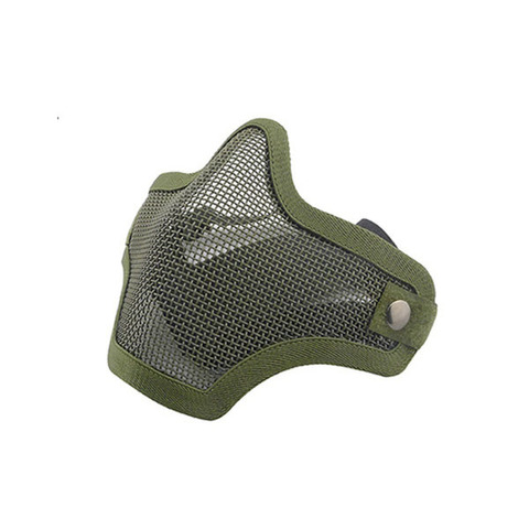 Wosport Маска защитная V1 Double-band Scouts Mask, Olive (MA-09-OD)