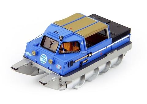 ZIL-29061 rotary snow terrain vehicle DIP 1:43