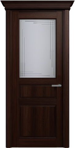 CLASSIC 532 Орех стекло Грань