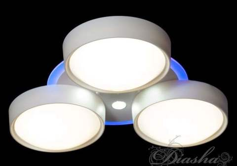 Светодиодная люстра для детской комнаты с диммером и подсветкой 85W