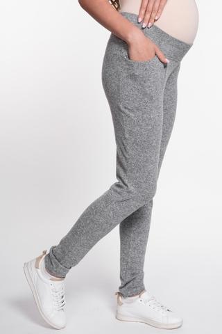 Спортивные брюки для беременных 08967 серый