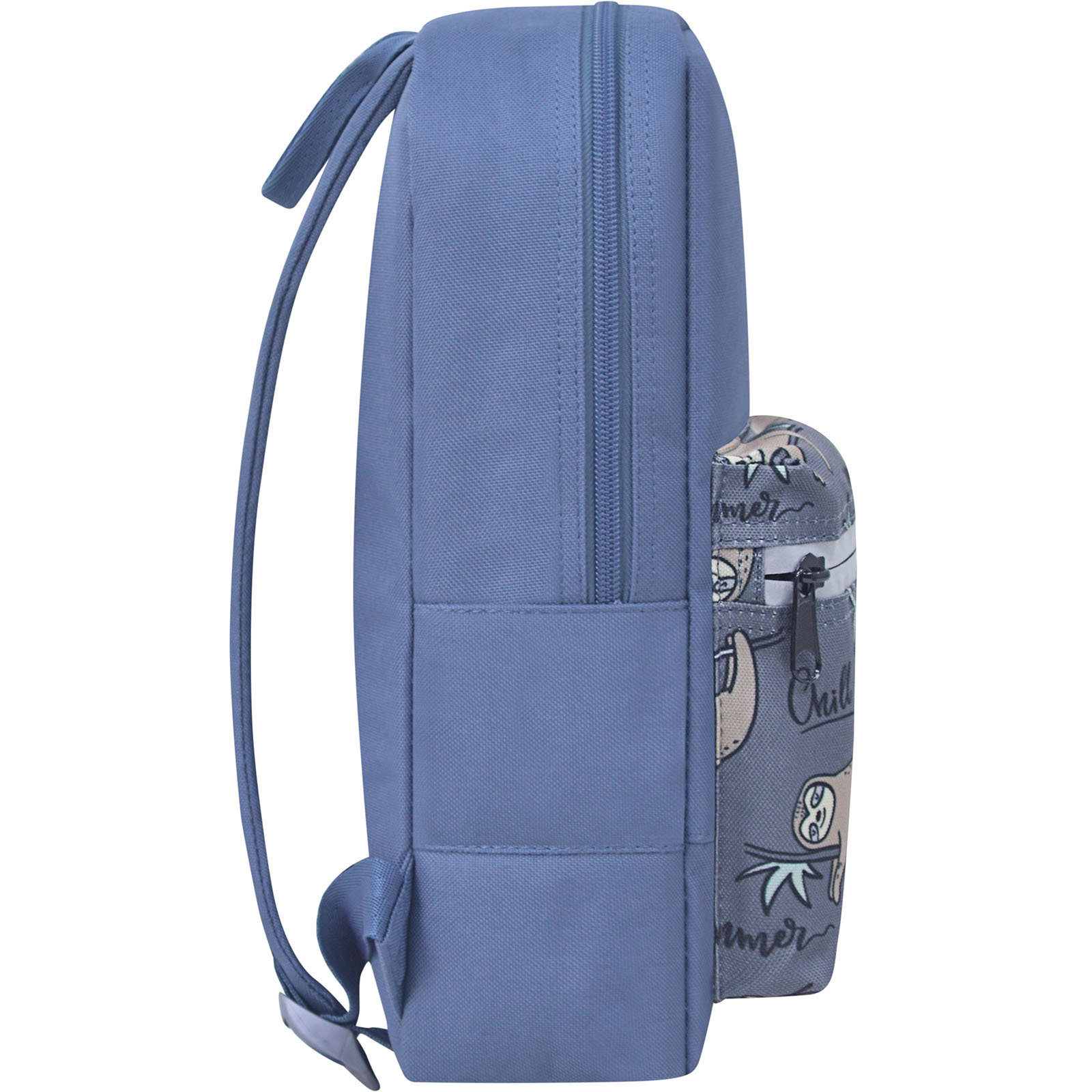 Рюкзак Bagland Молодежный mini 8 л. серый 769 (0050866)
