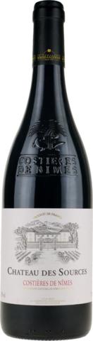 Вино Chateau des Sources Costieres de Nîmes,AOC 2015, 0.75 л
