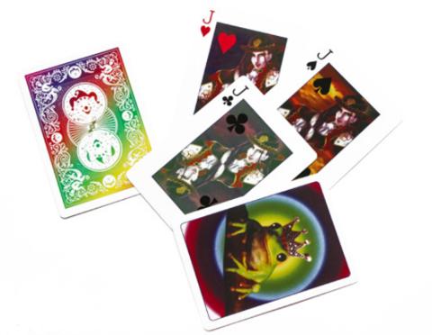 """Карточный набор """"Лягушки и принцы"""""""