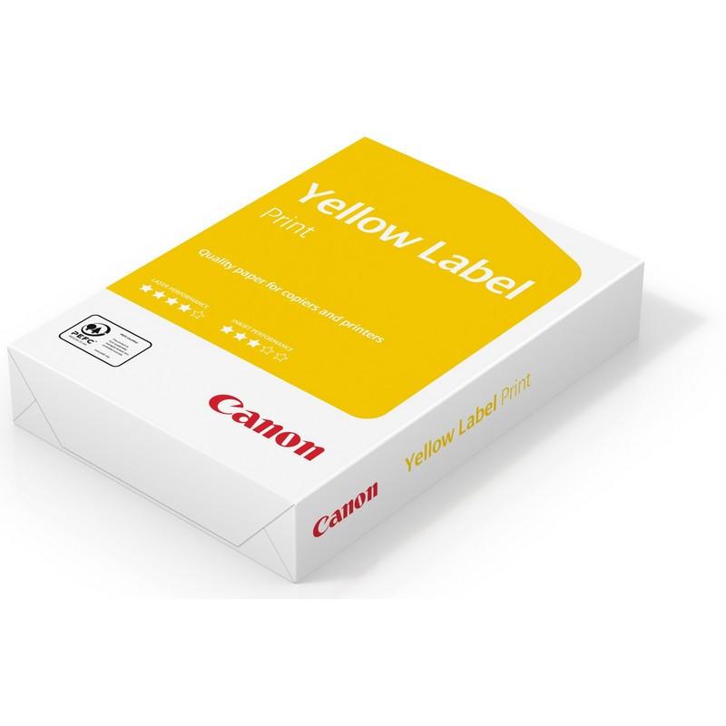 Бумага для офисной техники Canon Yellow Label Print (А4, марка C, 80 г/кв.м, 500 листов)