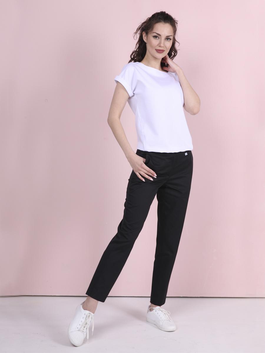 MediS.moda черные медицинские брюки Б-122
