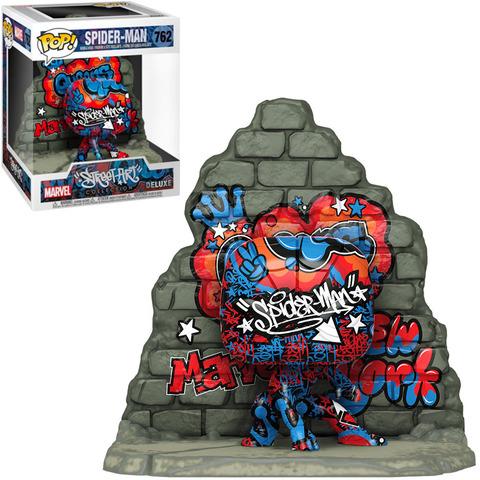 Spider-Man Street Art Collection Deluxe Funko Pop! Vinyl Figure || Человек-Паук