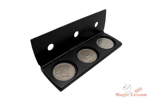 Фокус с прокалыванием монет