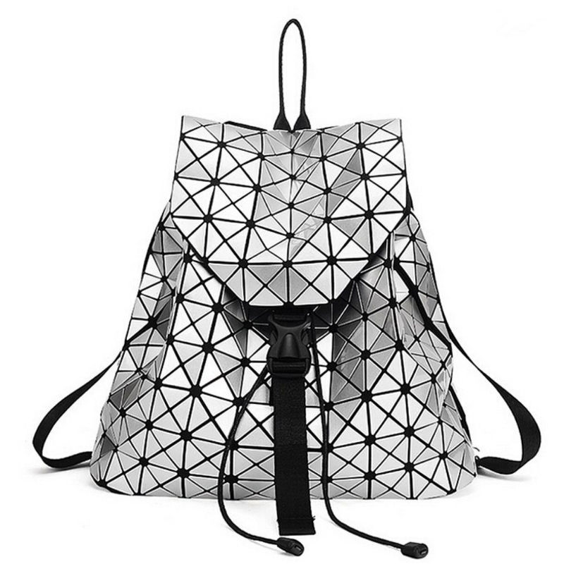 Сумки и рюкзаки Геометрический рюкзак Silver geometricheskiy-ryukzak-silver.jpg
