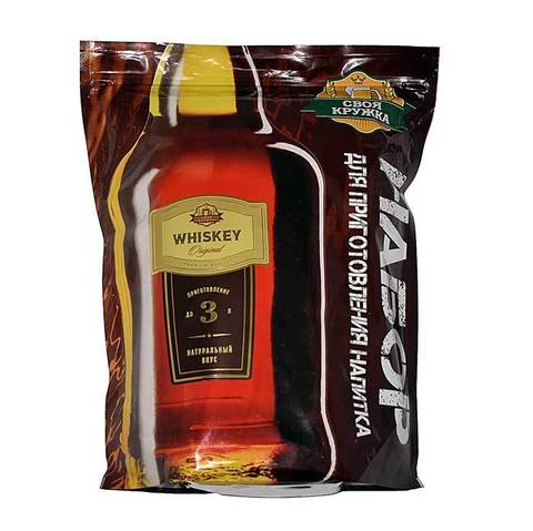 Солодовый концентрат Своя кружка Whiskey 4,5 кг