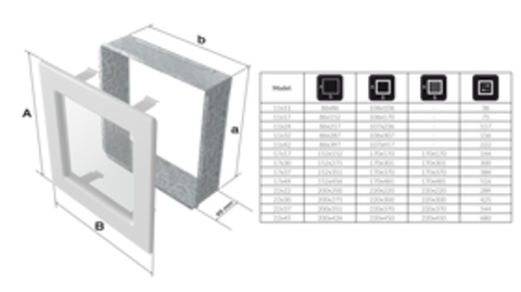 Вентиляционная решетка Графит (17*49) 49G