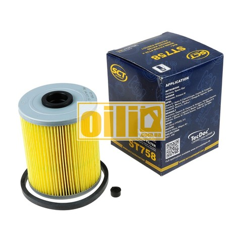 Фильтр топливный SCT ST758 (Opel, Renault, Suzuki)